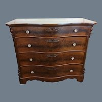 Solomon and Fanning Victorian Walnut Chest