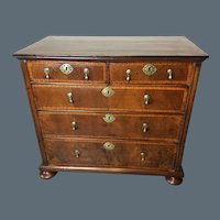 William and Mary Walnut Chest