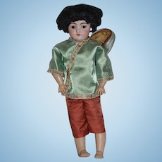 Antique Doll Simon Halbig 1039 Bisque Doll Dressed in Costume