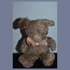 Old Teddy Bear Mohair Sweet Face Glass Eyes