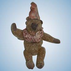 Wonderful Doll Artist Teddy Bear Clown NORBEARY BEARS Made in England Jester