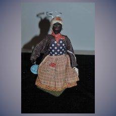 Old Doll Black Doll Cloth Doll Rag Doll Dressed In Doll Book