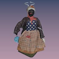 Old Doll Black Doll Cloth Doll Rag Doll Dressed In Doll Book