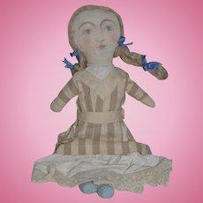 Wonderful Doll Cloth Doll Artist Doll Sweet