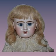 "Antique Doll French Bisque BeBe Denamur W/ Old Gesland Boutique Label BIG GIRL Gorgeous 29"" Tall"
