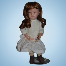 Antique Doll Schoenhut Wood Carved Jointed Charming