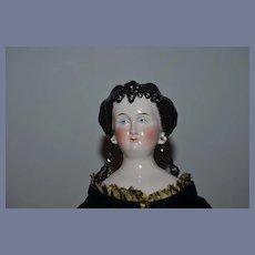 Antique Doll China Head Conta & Boehme Countess Dagmar Gorgeous