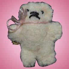 Artist Doll Miniature Teddy Bear Dollhouse