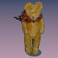 Vintage Teddy Bear Jointed Crier Sweet Cabinet Size