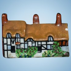 Old Doll Miniature Houses THREE HOUSES for your dollhouse Staffordshire??