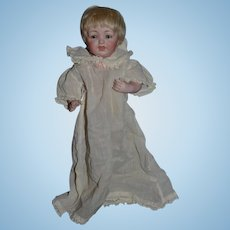 Antique Doll All Bisque Kestner 211 Gorgeous W/ Old Label
