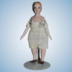 Vintage Doll Artist Doll Dollhouse Miniature Man Signed