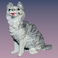 Miniature Metal Painted Cat Miniature Dollhouse Doll Friend