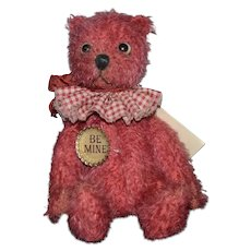 "Artist Teddy Bear Jointed ""Oswald"" Riffenberg Bear Co. Jane Monroe ADORABLE"