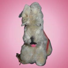 Old Doll Friend Miniature Scottish Terrier W/ Leash Dollhouse