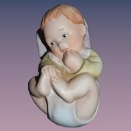 Vintage Goebel German Baby Figurine Sweet Signed