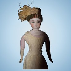 Wonderful French Fashion Fancy Doll Hat Feathers