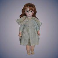 Antique Doll Unusual Large Incised Mark French Bisque Depose SFBJ Flirty Eye