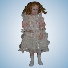 "Wonderful Artist Doll Wax GORGEOUS Linda Murray Signed Dated Numbered 30"" Tall"