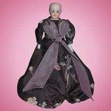 Antique Doll Miniature S&H 1160 Little Women Doll Simon & Halbig Dollhouse Lady Wonderfully Dressed
