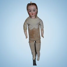 Antique Doll Two Faced Bisque Doll Fussy Baby Happy Baby Wonderful Carl Bergner