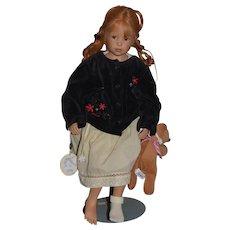 """Artist Doll """"Annabell"""" Von Heidi Plusczok Character Doll"""