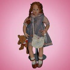 "Artist Doll ""Dorthea"" Von Heidi Plusczok Character Doll"