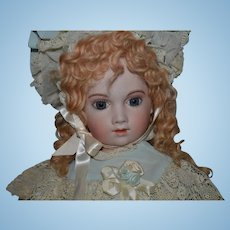 Vintage Mohair Wig Los Angeles and London Long Curls For Doll