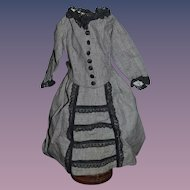 Wonderful Dress For French Fashion Doll Skirt Shirt Jacket Fancy!