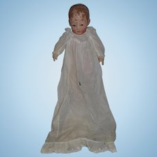 Antique Kathe Kruse Oil Cloth Doll Sweetest Face Series 1