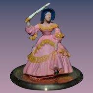 Vintage Chrysbon Miniature Doll Figurine By Judy Berman Dollhouse Artist