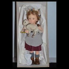 R. JOHN WRIGHT HEIDI Mint in Box ONLY 300 Made Exclusive for Little Switzerland Dolls Cloth Doll