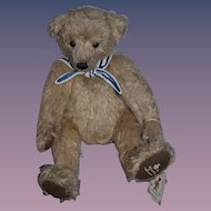 Wonderful Teddy Bear Artist Bear By Marsha Friesen Signed Jointed
