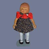 Vintage Wood Doll Artist Doll Beckett Originals LITTLE GIRL By June Sweet!!