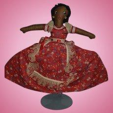 Old Doll Cloth Doll Topsy Turvy Black Doll White Doll Rag Doll