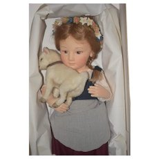 Wonderful Doll R. John Wright MIB Exclusively For Little Switerzland Dolls Limited Edition HEIDI W/ Papers