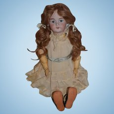 """Antique Doll Simon & Halbig Deb 1079 For French Market Sweet 26"""" Tall"""