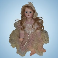 Antique Doll Rare French Bebe Francais Only made One Year Bisque Head Big Girl