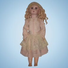 Antique Doll French Bisque Mascotte BeBe Beautiful Dressed! Closed Mouth
