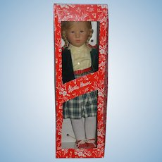 Kathe Kruse Doll In Original Box W/ Original Clothes Signed Beautiful 1985