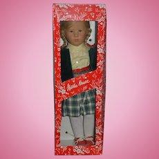 Kathe Kruse Doll In Original Box W/ Original Clothes Signed Beautiful 1985