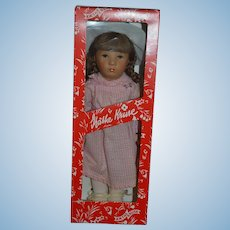 Kathe Kruse Doll In Original Box Martina 1985 In Original Box & Original Clothes