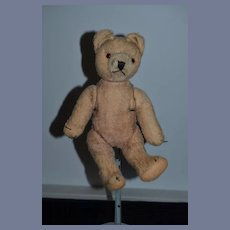 Old Mohair Teddy Bear Jointed Hermann Sweet Size Jointed