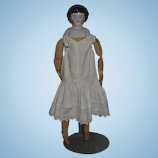 Antique Doll China Head W/ Bangs Sweet Face ABG  Highland Mary