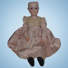 """Antique Doll Large Bisque Armand Marseille Beautiful Clothes 26"""" Tall"""