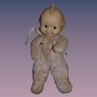 Old Kewpie Cloth Body Vinyl Head SWEET!!
