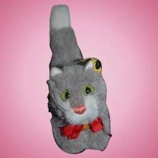 Vintage Cat Steiff Kitty Button Tag Miniature