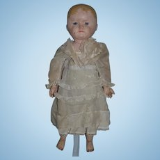 Antique Doll Oil Cloth Martha Chase Sweet Size