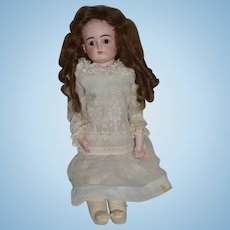 Antique Doll Bisque Closed Mouth Kestner Gorgeous Original Plaster Pate