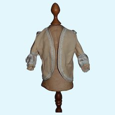 Vintage Doll Coat Jacket Artist Mary R Harvey Original Fancy